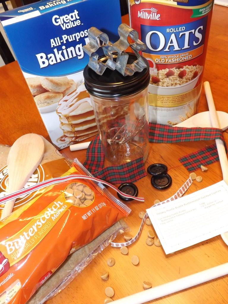 Holiday Hustle Bustle Butterscotch Oatmeal Cookies