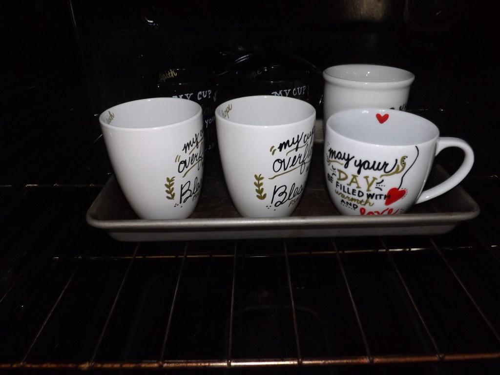 Hand Written Coffee Mugs