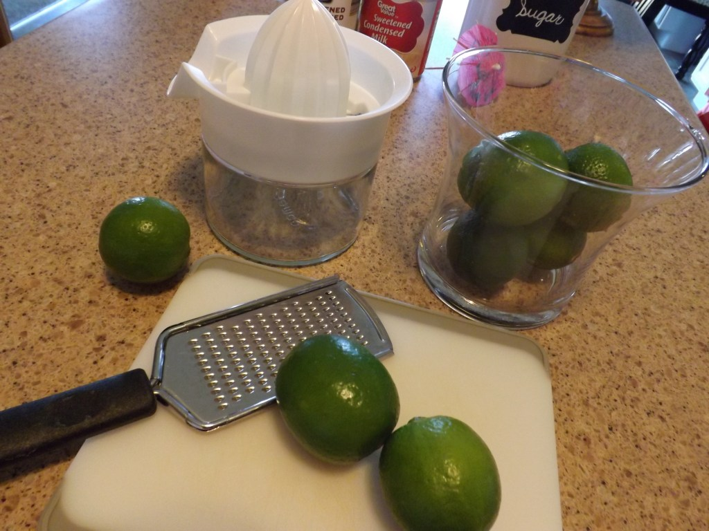 squeezing limes