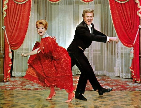 Molly Brown & JJ dancing