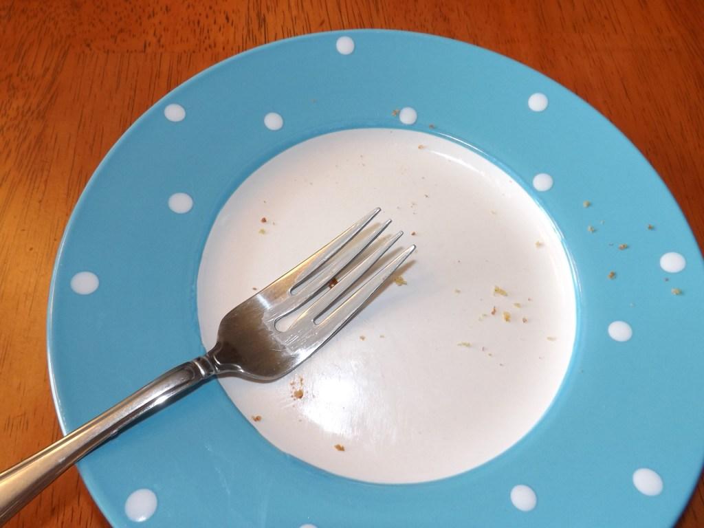 Not a crumb left!