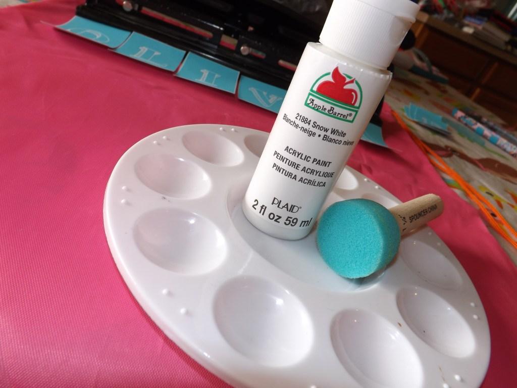 White Craft Paint