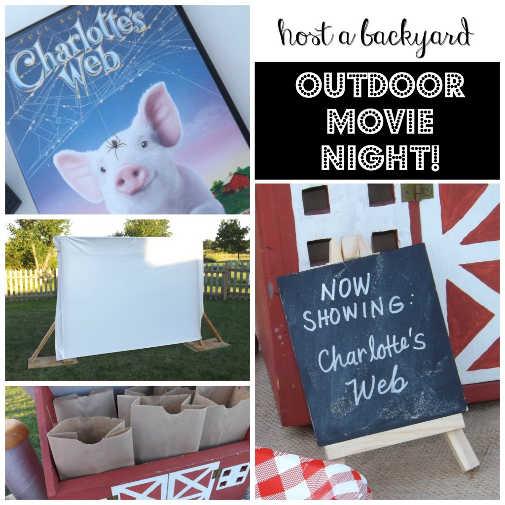Host a Backyard Outdoor Movie Night