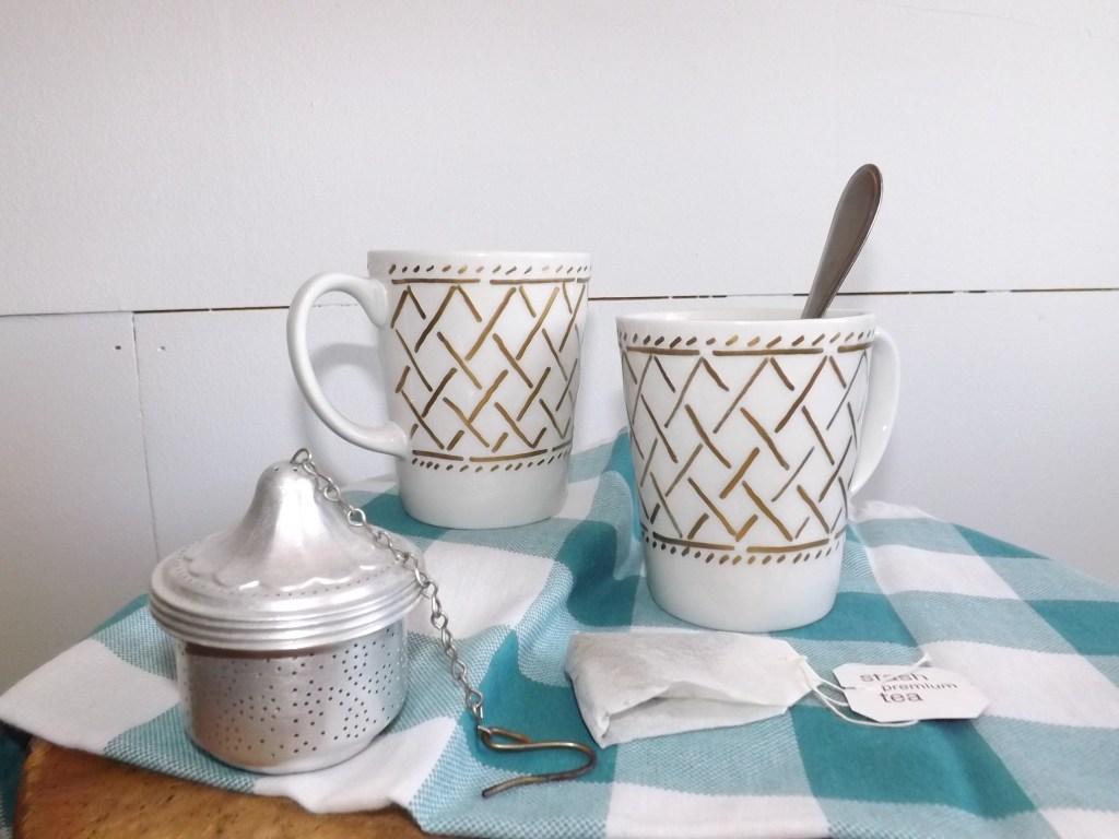 Sweater Weave mugs
