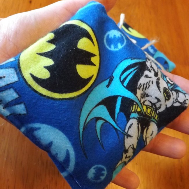 Batman Pocket Rice Hand Warmers