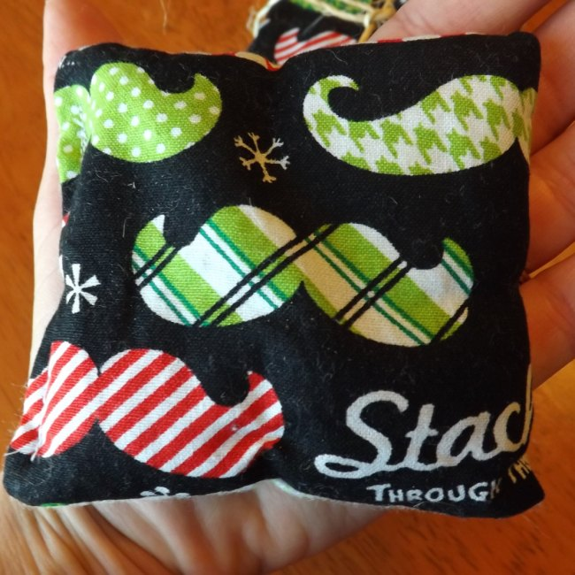 Christmas Mustache Pocket Rice Hand Warmers