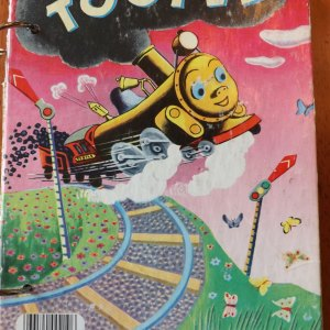 Tootle Upcycled Little Golden Book Journal