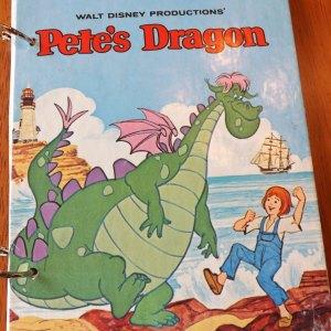 Walt Disney Pete's Dragon Upcycled Little Golden Book Journal