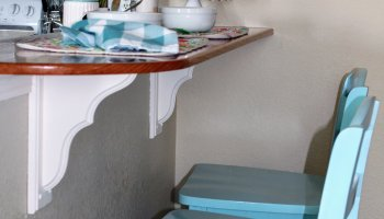 Budget Friendly Kitchen Breakfast Bar & Stools