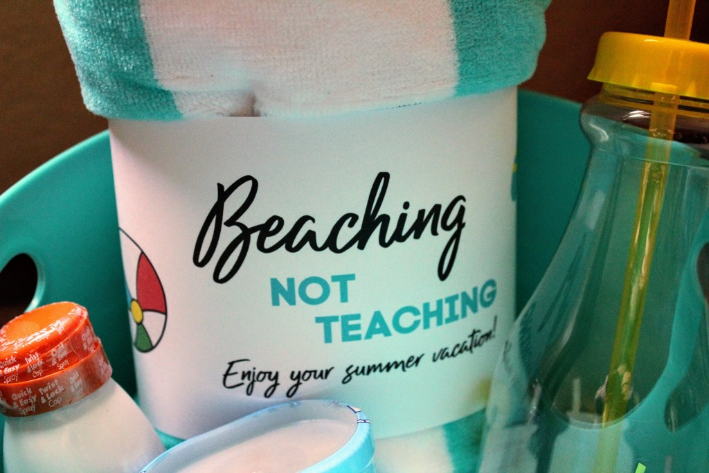Beaching Not Teaching Free Printable