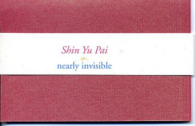 Nearly Invisible (Longhouse Poetry, 2011). Book Arts. Poetry.