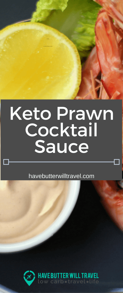 Prawns are an Australian Christmas tradition and who doesn't love them with a cocktail sauce. A keto prawn cocktail sauce recipe everyone can enjoy.