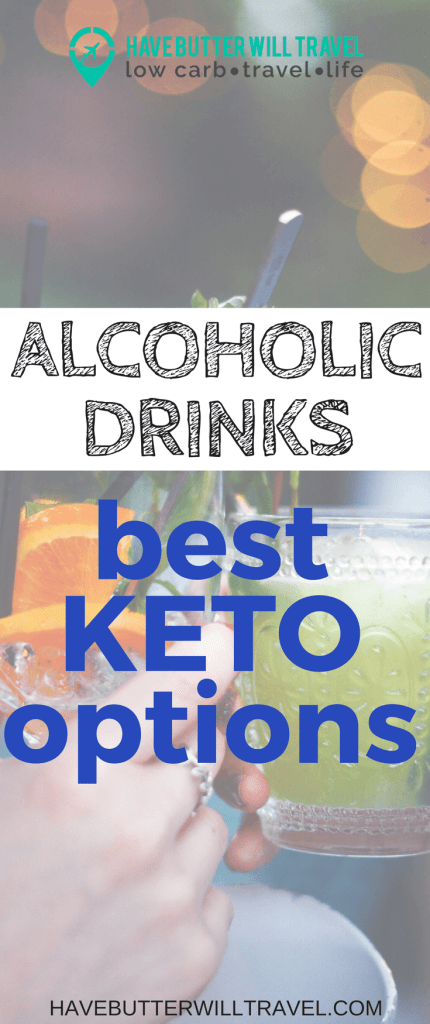 Keto Alcoholic drinks options. Alcohol can be difficult to navigate on a low carb diet. Check out this list of the best options.
