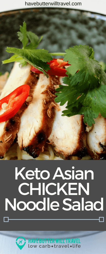 Our keto asian chicken noodle salad is a great option for lunch or dinner during summer. Try this recipe if you love Southeast Asian cuisine.