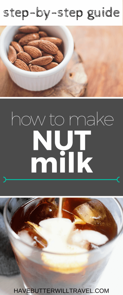 This step by step guide will show you how to make nut milk the simple way. Nut milk is great for anyone with lactose intolerance, vegans and a low carb/keto lifestyle.