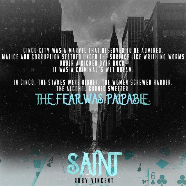 Saint by Ruby Vincent