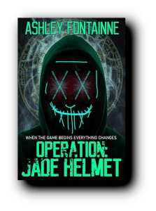 Operation Jade Helmet by Ashley Fontainne