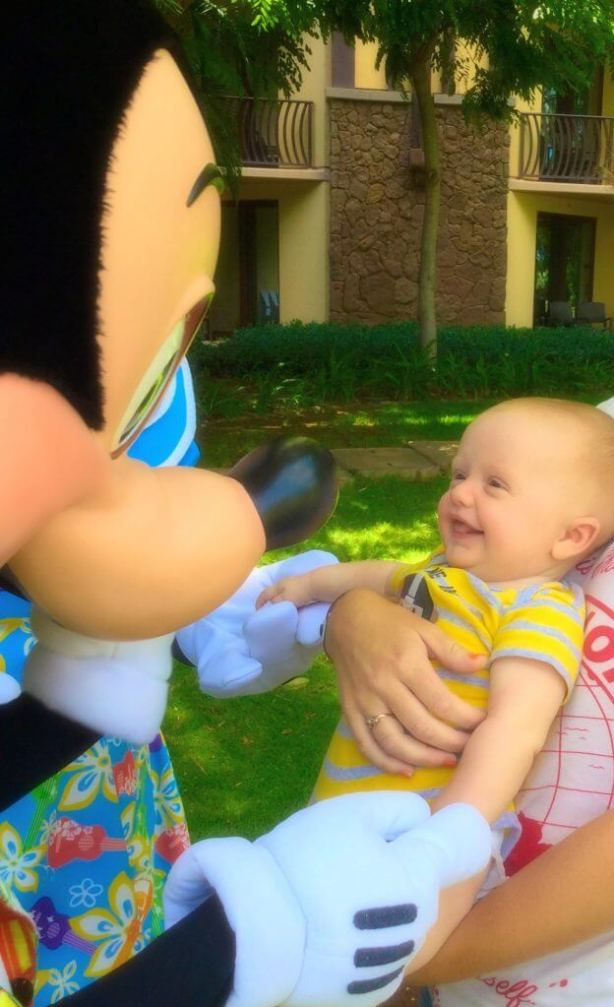 Visiting Aulani with a baby