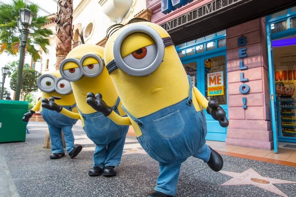 Universal Studios Orlando with a toddler Minion Mayhem
