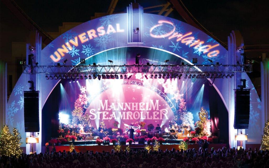 Christmas at Universal Studios Orlando Mannheim Steamroller