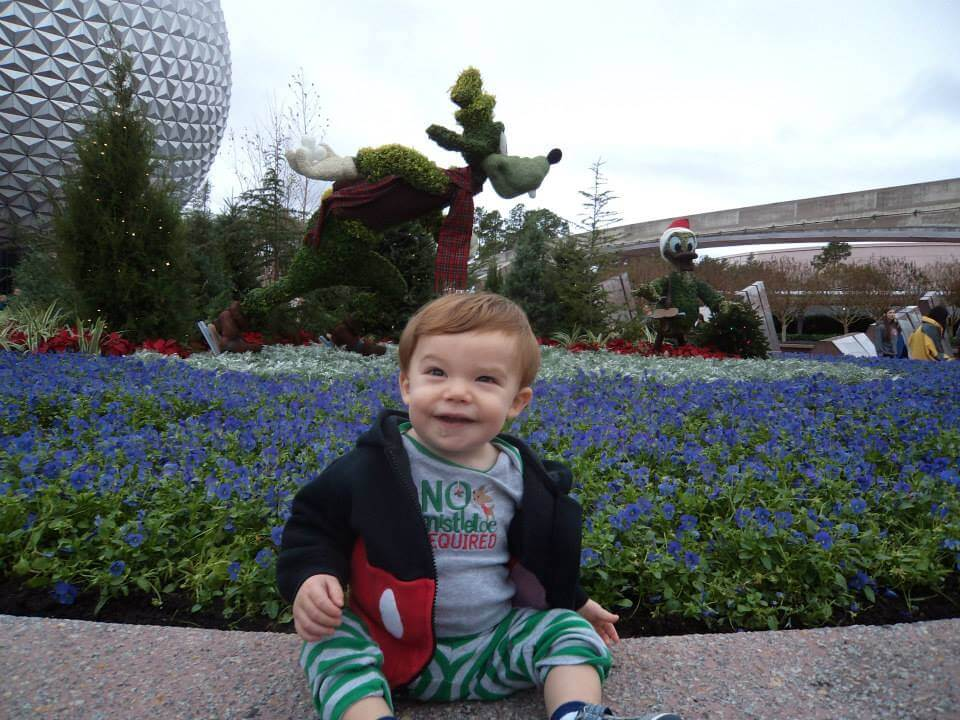 taking a baby to walt disney world