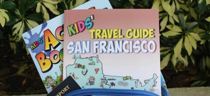 Kids' Travel Guides from Flying Kids: A Review and a giveaway