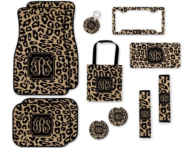 Leopard Print Car Accessories