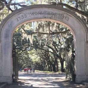 Wormsloe Gates