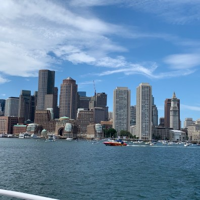 Views of Boston from the Ferry