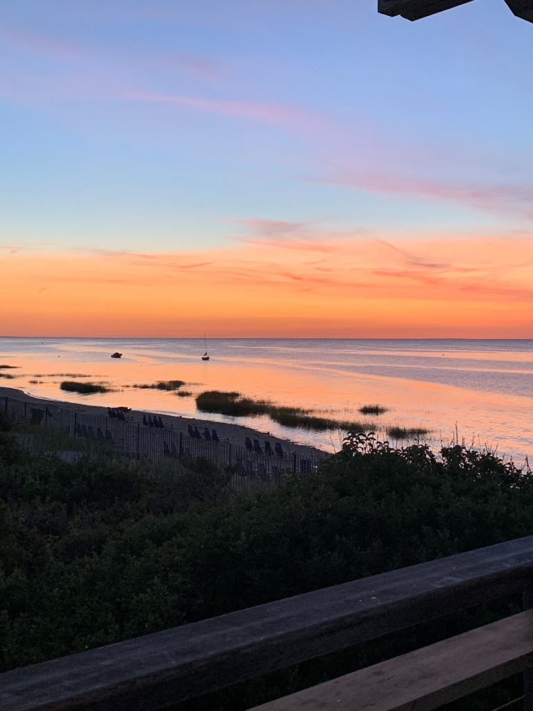 Sunset in Cape Cod