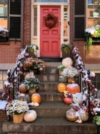 Halloween Red Door