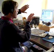 Rummery, Dick in studio