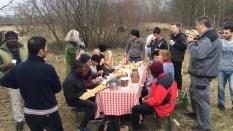 gemeinsames Essen