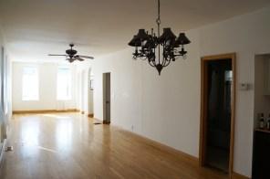 Existing living room {toward front door}