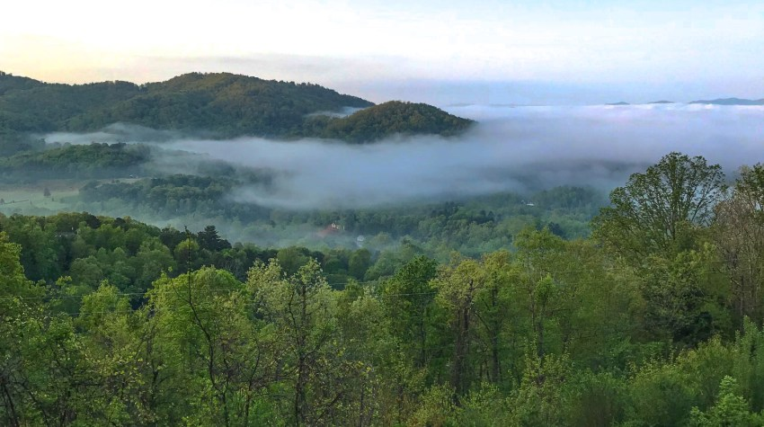 Asheville, The Biltmore and The Appalachian Trail