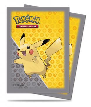 CardSleeves-UltraProStd-PikachuGrey