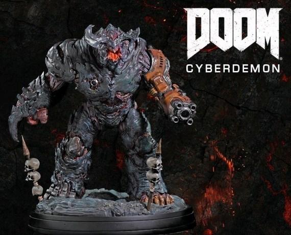 GAMDCYBREG-WS–Doom-Cyberdemon-Statue