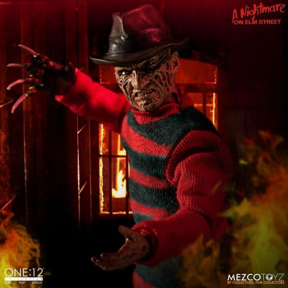 MEZ77390–Nightmare-on-Elm-St-Freddy-One-12-Collective-FigC