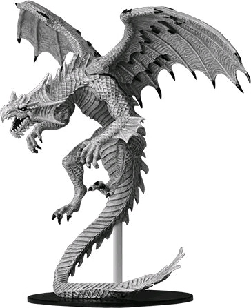 WZK73145–Pathfinder-Battles-Gargantuan-White-Dragon