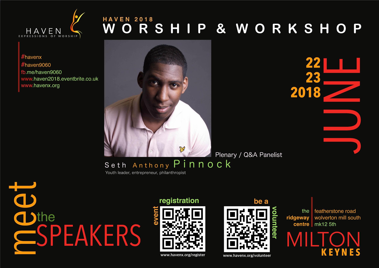 meet the speakers - Seth Pinnock SMALL