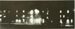 A photo of Barclay Hall from the 1963 Haverford yearbook.