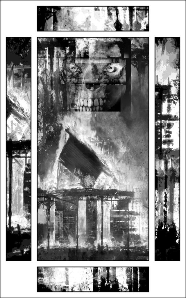 Haverhill House Publishing — Strange Seed by T.M. Wright (Interior Illustration #1)