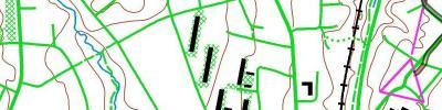 Rulleski-o-intervaller på Heimdal, drag 1