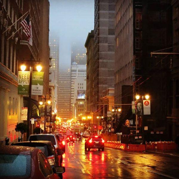 Utnytta langhelgen til å bli bedre kjent i San Francisco. Bra følge, mye god mat, trivelig by og litt mye regn.