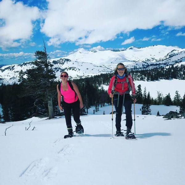 California fortsetter å levere. Samler på dager som denne. Tur til Mount Tallac med godt selskap, sol og 988 høydemeter. Men skulle mer enn gjerne hatt selskap av randonee skia mine og...
