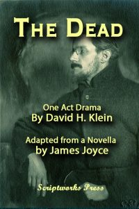 Play Script Cover - The Dead - One- Act Play