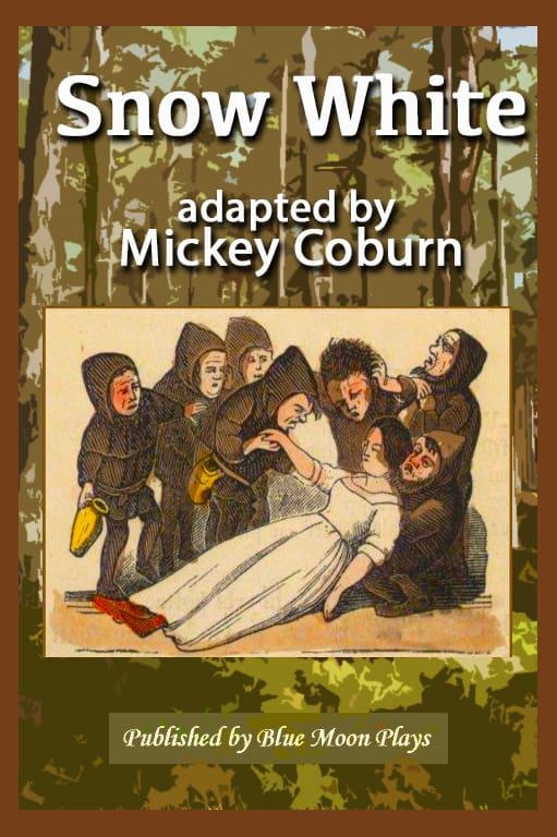 Snow White Play Script Book Cover