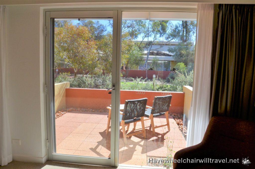 Accessible accommodation Uluru