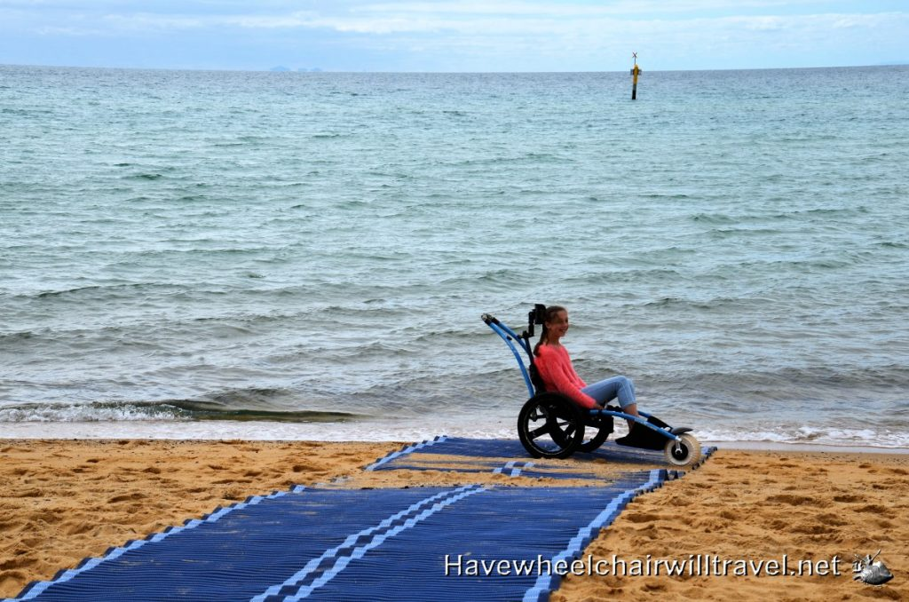 Accessible beaches Melbourne