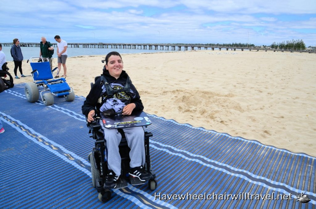 Accessible beach Melbourne